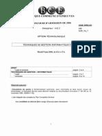 BanqCE Management-et-gestion 2006 HEC