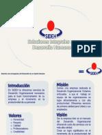 Servicios SIDEH, Nina Lugo, Capacitacion Merida Yucatan