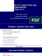 Number Systems and its conversion