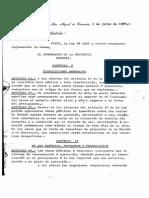 Decreto Reglamentario 1534 3 SO 03071987