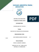 CONTABILIDAD DE COSTOS I METODOS DE VALUACION DE INVENTARIO.doc