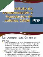 Instituto de Compensación y Liquidación de Valores CAVALI