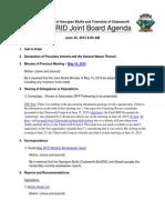 Agenda June 25, 2015 With Links