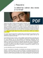 Augusto Cury nota de prensa