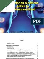 Cuestiones Bioéticas sobre la Homosexualidad