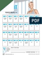 Jamie Eason Livefit Calendar