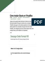 5 Formas de Instalar Ubuntu en VirtualBox - WikiHow