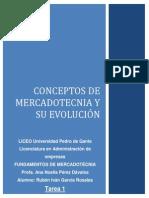 Conceptos de Mercadotecnia y Su Evolucion
