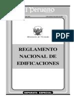Reglamento General de Edificaciones