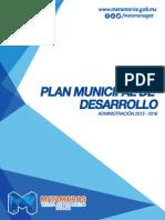 Plan Municipal de Desarrollo - Gobierno de Matamoros