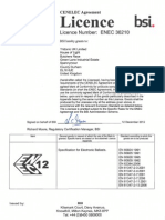 ENEC 36210 Emergency Modules and Electronic Ballasts