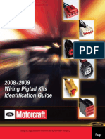 Pig Tail Connector Identification Kit 2008-2009 Model Yr.