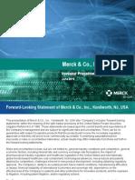 Merck Investor Presentation June 2015 6-25-2015 FINAL