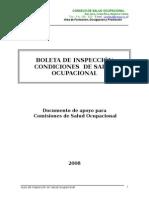 Boleta de Inspeccion Salud Ocupacional
