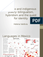 Chicano and Indigenous Poetry