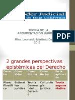 Panorama Gral de La Argumentacion Juridica 9 09 2013 (1)