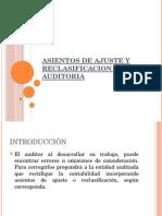ASIENTOS DE AJUSTE Y RECLASIFICACION EN AUDITORIA.pptx
