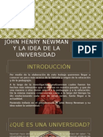 John Henry Newman y La Idea de La