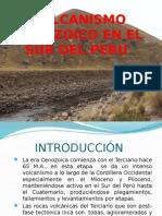Vulcanismo Cenozoico en El Sur Del Perú