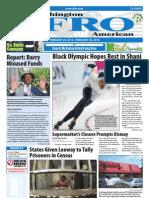 Washington D.C. Afro-American Newspaper, February 20, 2010