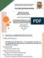 Diapositivas INVESTIGACION EDUCATIVA