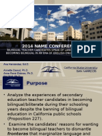 2014 name conference become bilingual ppt