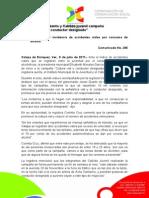 """09-07-2011 Inicia Ayuntamiento y Cabildo juvenil campaña """"Cultura vial y conductor designado"""". C386"""