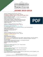 Teatro Coccia Novara 2015 - 2016_spettacoli