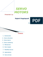 Servo Motors types and applications
