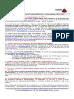 Respuestas a Preguntas Más Frecuentes Sobre Las Elecciones Parlamentarias 6-D 2015