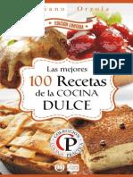 LAS MEJORES 100 RECETAS DE LA DULCE -alba.pdf