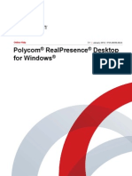 PolyCom real presence for Widows