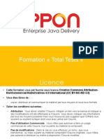 Formation Total Tests Chez IPPON Enterprise Java Delivery