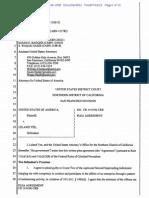 USA v. Leland Yee Plea Agreement