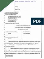 USA v. Marlon Darrell Sullivan Plea Agreement