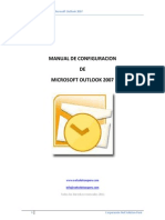 Manual de Configuracion de Microsoft Outlook 2007