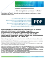 Results 2015 NetRiders LATAM CCNA R1