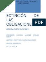 Integrador Extincion de Las Obligaciones