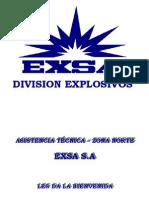 Seguridad en Manipuleo, Almacenamiento y Transporte de Explosivos Nuevo