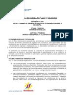 Ley Economia Popular Solidaria