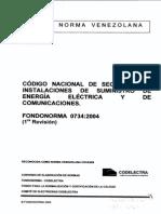 COD-Nacional de Seguridad-Instalaciones de Energía Eléctrica y de Comunicaciones