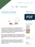 Las Dificultades en el Aprendizaje _ PSICOLOGIA EDUARDO ORTEGA.pdf