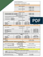 Calendario Academico 2015 - Reglamento