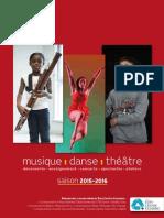 2015 2016 Conservatoires Programme