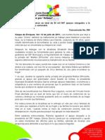 """12-07-2011 """"Martes DIFerente"""" continúa apoyando a los damnificados por """"Arlene"""". C393"""