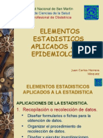 Elementos Estadisticos Aplicados a La Epidemiologia.2N