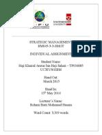 Strategic management of Boeing