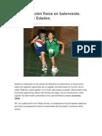 La Preparación Física en Baloncesto