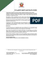 23-10-2014 Demandas de Amparo Aprobado