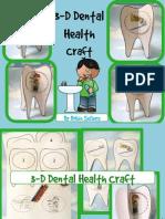 DentalHealthCraftDToothBrushingSequencingCraftivity